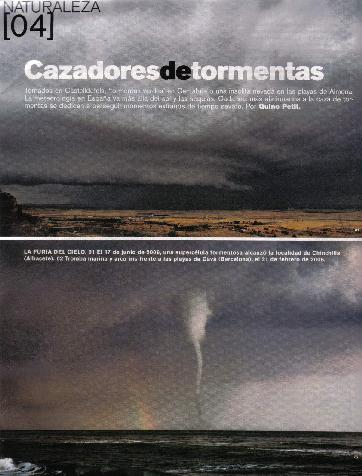 SpainSevereWeather en El Pais Semanal (EPS)